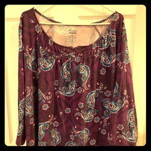 Tops - 3/4 length sleeve shirt